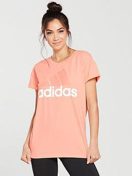 adidas-essentials-linear-tee-lightnbspcoral