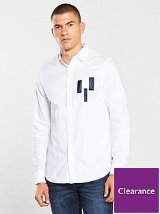 armani-exchange-long-sleeve-chest-print-shirt
