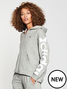 adidas-feminine-zip-through-hoodienbsp--medium-grey-heathernbsp