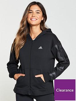 adidas-feminine-zip-through-hoodie-blacknbsp