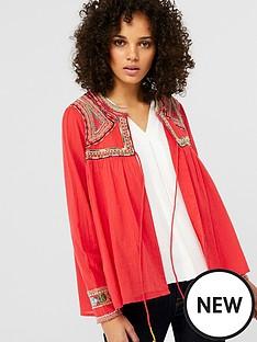 monsoon-scarlet-embroidered-jacket-rednbsp