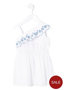 river-island-mini-girls-white-one-shoulder-broderie-dress