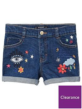 mango-girls-ebroidery-denim-short