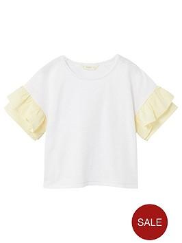 mango-girls-frill-sleeve-t-shirt