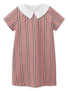 mango-girls-metallic-stripe-dress