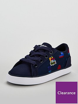 lacoste-lacoste-infant-lerond-318-printed-lace-up-plimsoll
