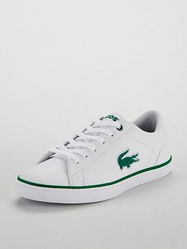 lacoste-lacoste-lerond-318-flocked-lace-up-plimsoll
