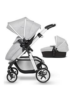 silver-cross-pioneer-satin-pram-amp-pushchair-bundle