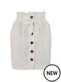 miss-selfridge-button-paperbag-skirt