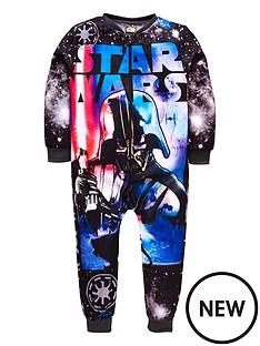 star-wars-boys-starwarsnbspfleece-all-in-one-multi-coloured
