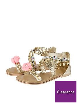 monsoon-girls-cross-strap-embroidered-pom-pom-sandal