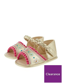 monsoon-baby-girls-embroidered-pom-pom-bootie-sandal