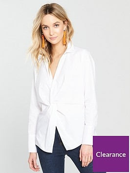 river-island-river-island-twist-front-shirt-white