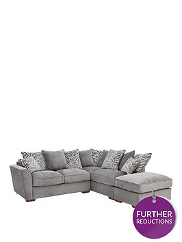 kingston-fabric-right-hand-scatter-back-corner-chaise-sofa-bed-with-footstool