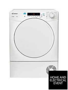 candy-csc9df-9kg-load-condenser-sensor-tumble-dryer-with-smart-touch-white