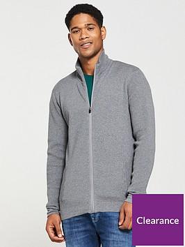 v-by-very-zip-through-tech-knit-marl-grey