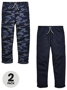 v-by-very-2-pack-camo-pull-on-slim-fit-trousers