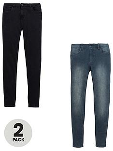 v-by-very-2-pack-skinny-jeans-black-and-grey