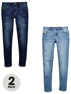v-by-very-2-pack-dark-and-light-wash-skinny-jeans-denim