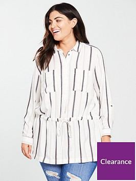 v-by-very-curve-longline-shirt-stripe
