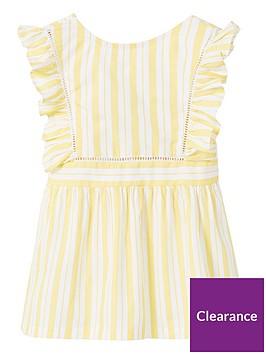 mango-baby-girlsnbspstripe-top-yellow