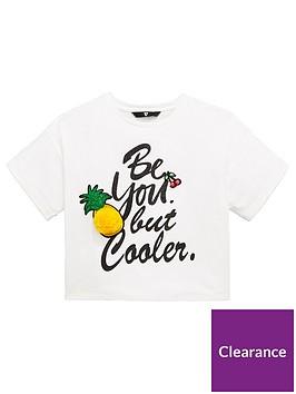 v-by-very-girls-pineapple-pom-pom-t-shirt