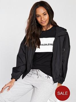 calvin-klein-jeans-hooded-zip-up-nylon-windbreaker-black
