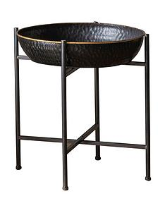 hudson-living-wesley-metal-side-table