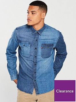 levis-levis-jackson-worker-denim-shirt