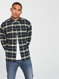 levis-levis-sunset-1-pocket-checked-flannel-shirt