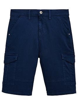 v-by-very-boys-cargo-utility-shorts-navy