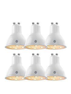 hive-active-lightnbspgu10nbspdimmable-led-spotlights-6-pack
