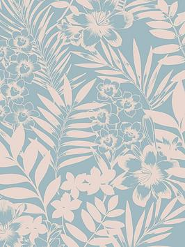 boutique-tropical-wallpaper--nbspteal