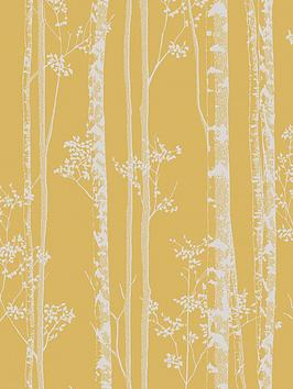 boutique-linden-wallpaper-ndash-ochre