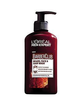 L'Oreal Paris   Men Expert Barber Club Beard Face Wash 250Ml