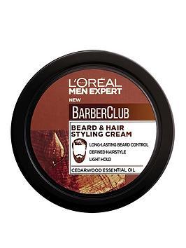 L'Oreal Paris   Men Expert Barber Club Beard Hair Styling Cream 75Ml