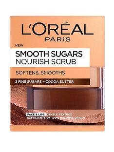 loreal-paris-smooth-sugar-nourish-cocoa-face-and-lip-scrub-50ml