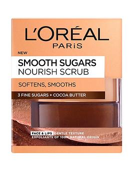 loreal-paris-smooth-sugar-nourish-cocoa-face-and-lip-scrub-50ml