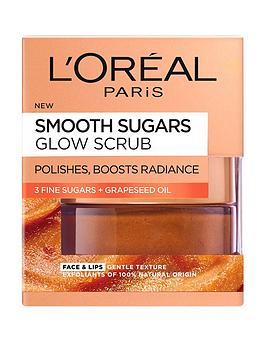 L'Oreal Paris L'Oreal Paris Smooth Sugar Glow Grapeseed Face And  ... Picture