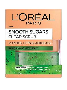 loreal-paris-smooth-sugar-clear-kiwi-face-and-lip-scrub-50ml