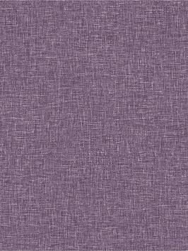 ARTHOUSE Arthouse Linen Texture Wallpaper - Heather Picture