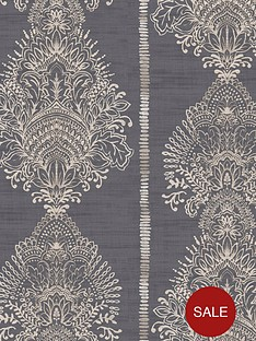 arthouse-silk-road-charcoal-wallpaper