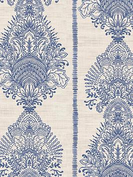 arthouse-silk-road-indigo-wallpaper