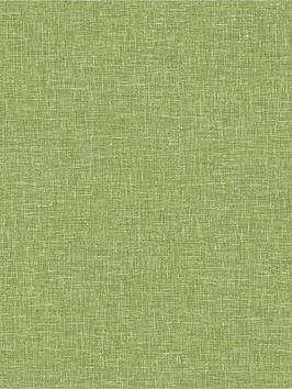 ARTHOUSE Arthouse Linen Texture Wallpaper - Moss Green Picture