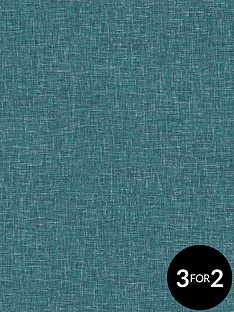 arthouse-linen-texture-teal-wallpaper