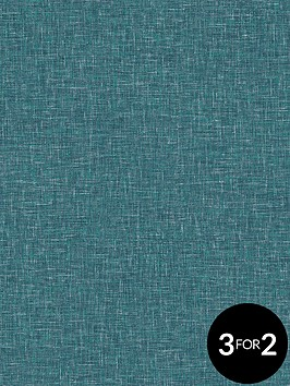arthouse-linen-texture-teal-wallpaper