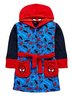spiderman-boys-hooded-robe