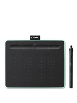 Wacom Intuos Pen Tablet In Pistachio (Small). Included Wacom Intuos Stylus. Bluetooth Connectivity. Compatible With Windows And Apple