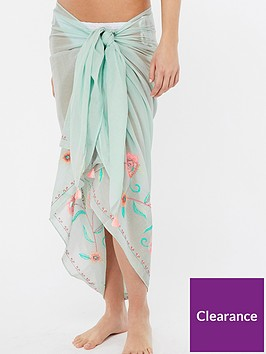 accessorize-beachcomber-embroidered-sarong-mint