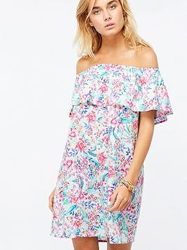 accessorize-floral-frill-bardot-dress